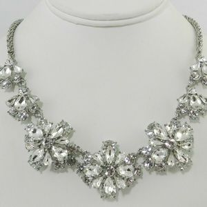 Charter Club Silver-Tone Crystal All-Around Collar